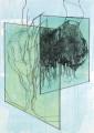‹Intervall Panorama 1 – 5› 2006:: Bleistift und Aquarell auf Papier, 70 x 50 cm
