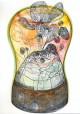 Volumen 2006::Bleistift, Farbstift und Aquarell auf Papier, 21 x 14,8 cm